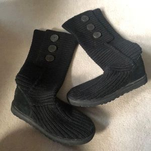 Knit UGG boots!